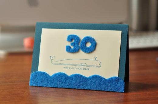 30cardjpg – Handmade 30th Birthday Cards